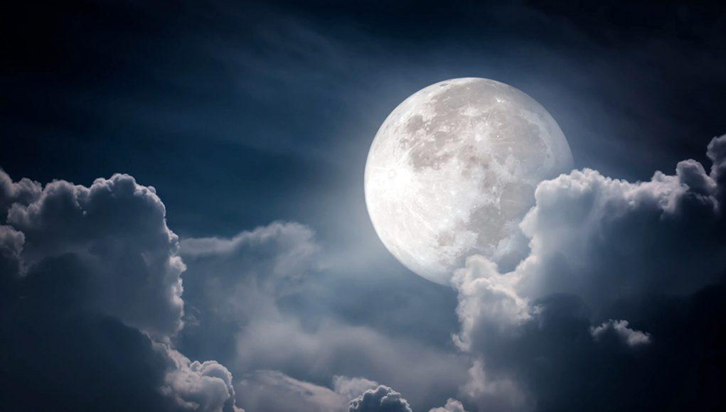 Eau sur la lune