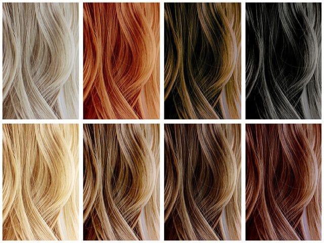 couleur de cheveux à la mode