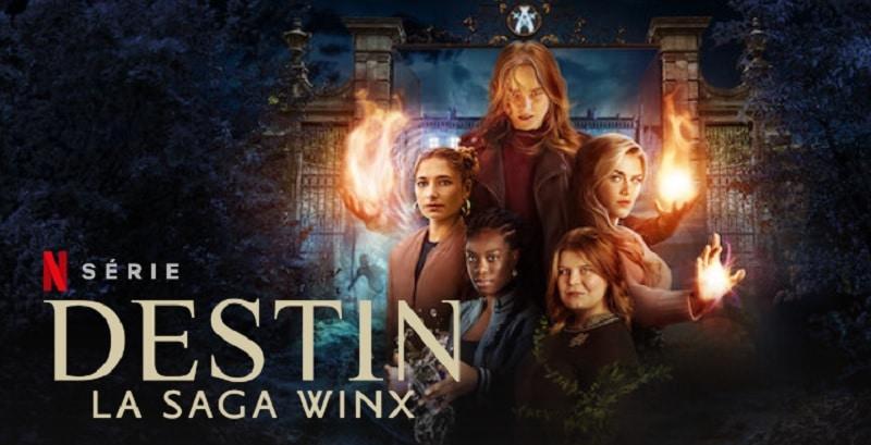 Destin Saga winx saison 2 confirmée sur Netflix