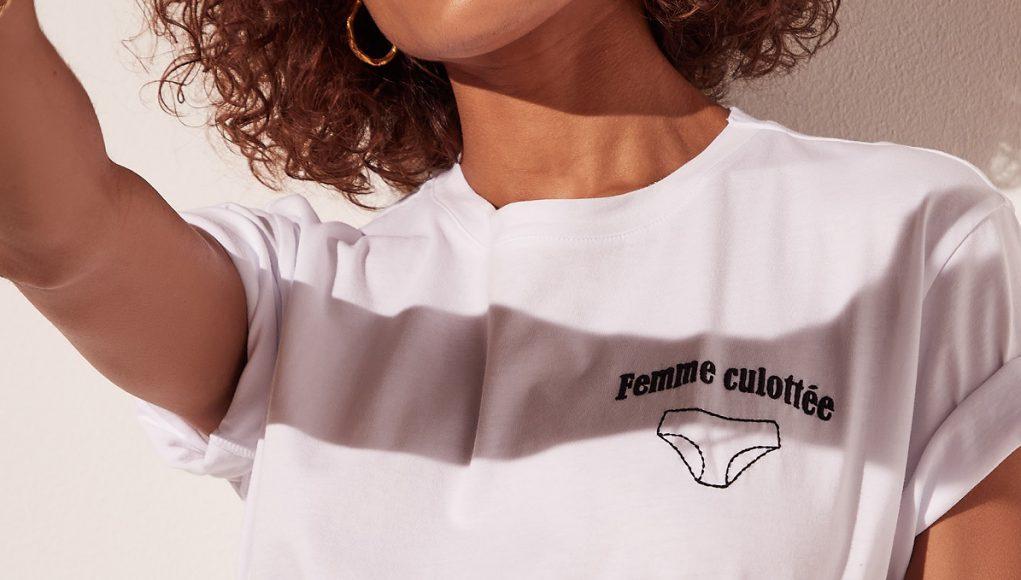 t-shirt Femme culottée Etam