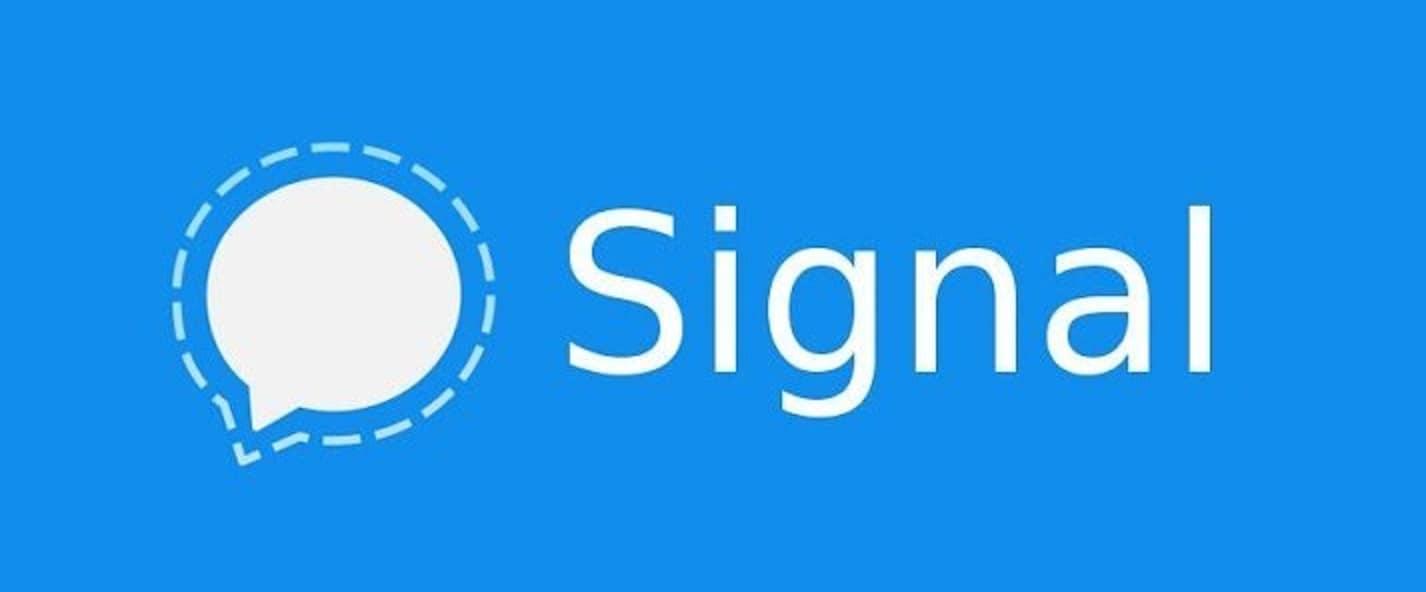 Signal application messagerie