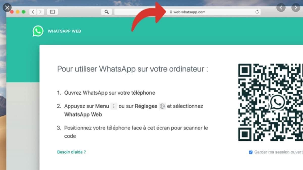 comment utiliser WhatsApp web sur son ordinateur