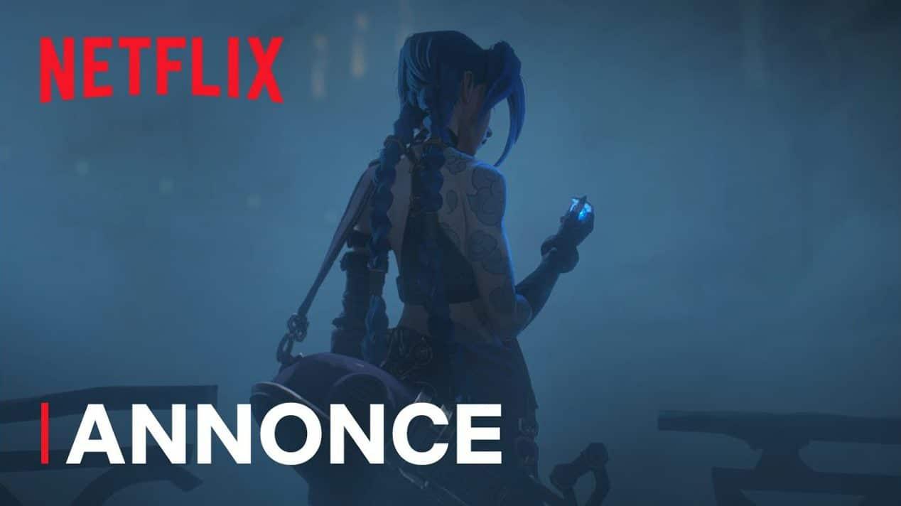 Arcane série Netflix
