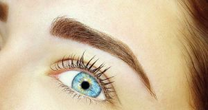 coloration des sourcils