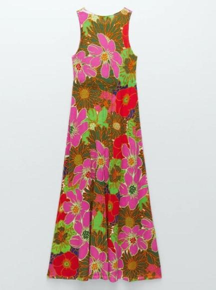 la robe à fleur Zara
