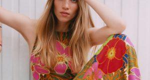 robe à fleurs Zara