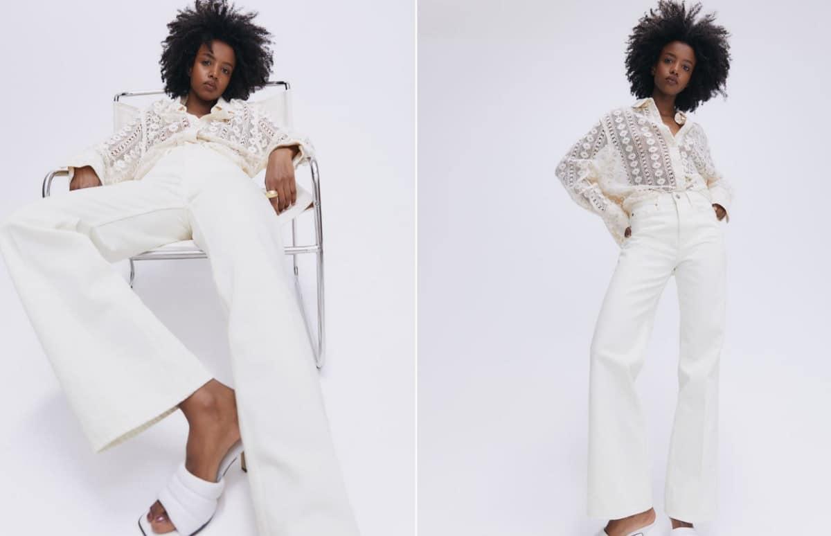 jean blanc H&M