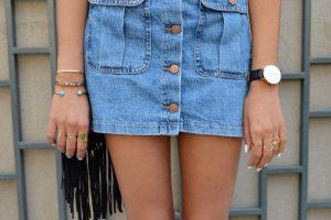 Conseil mode : une jupe en jean et des chaussures, oui, mais lesquelles?