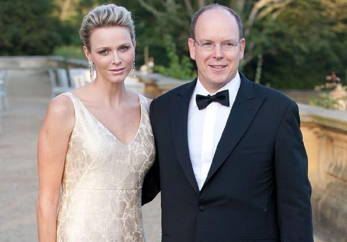 Albert et Charlene de Monaco