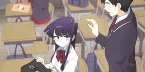Komi cherche ses mots : Le nouvel anime sera disponible cette semaine sur Netflix !