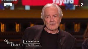 On est en direct : Pierre Arditi donne son avis ferme sur ses opinions face à Cyril Hanouna
