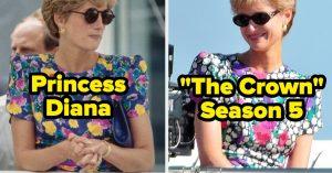 The Crown saison 5 sur Netflix : De nouveaux clichés du tournage laissent voir la princesse Diana et le prince Charles !